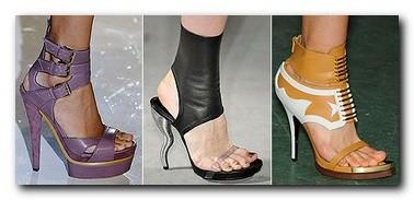 Стильная и красивая женская обувь