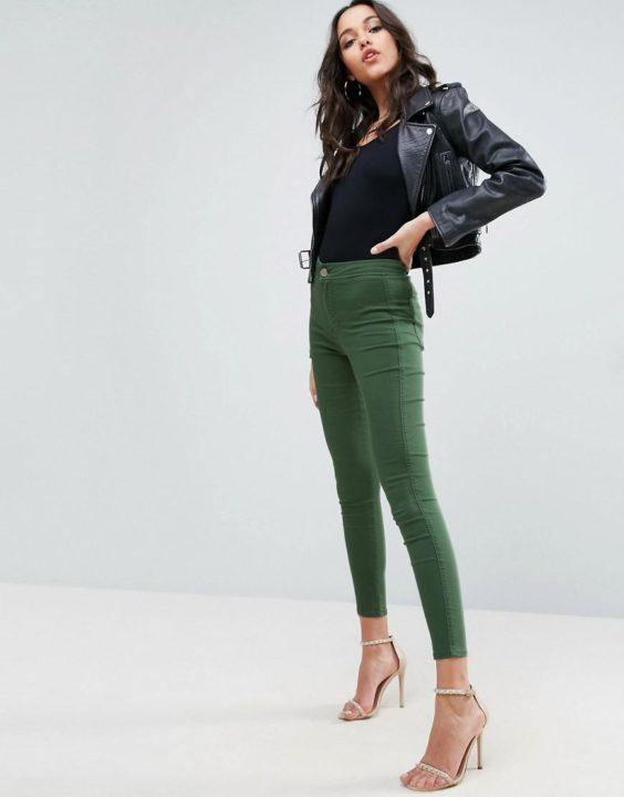 Джеггинсы: с чем носить и какие модели выбрать?