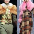 Горжетка-модный аксессуар в зимнем гардеробе