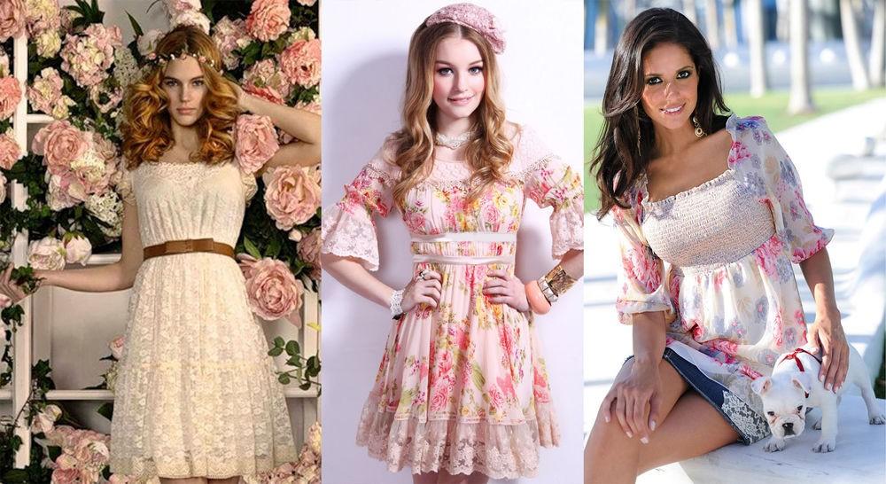 Романтический стиль в одежде: мода 2021
