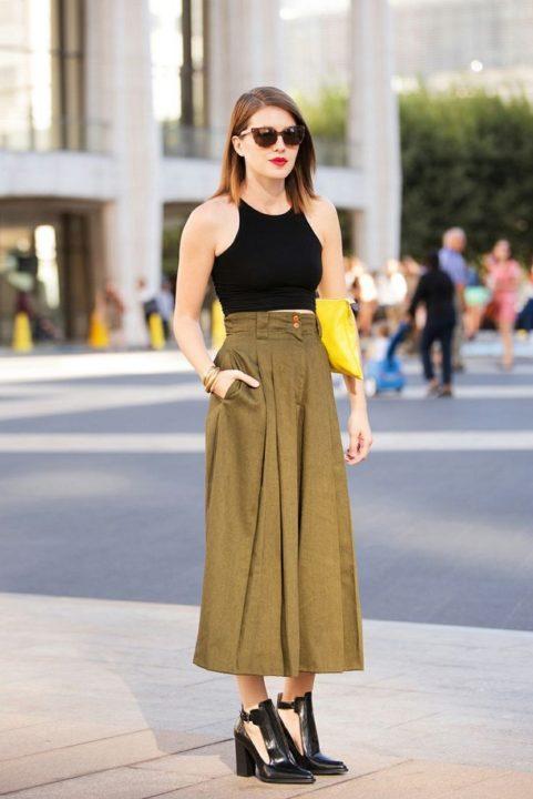 Юбка-брюки женские: очаровательный и практичный наряд