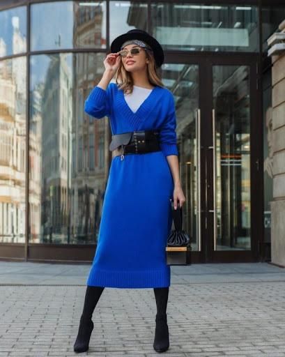 Модные красивые платья сезона осень-зима 2021-2022