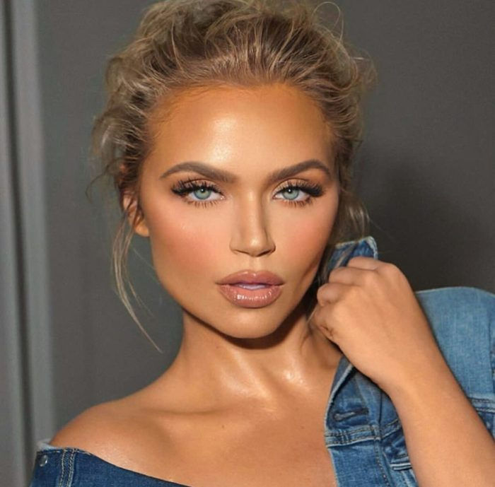 Золотистый макияж для загорелой кожи 2021
