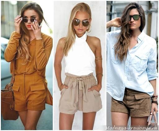 Модные женские шорты 2021  на сезон весна-лето