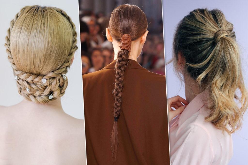 Модные несложные прически для длинных волос