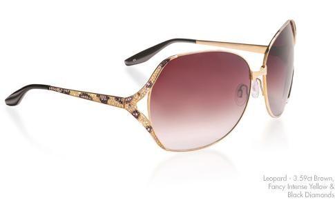 Бриллиантовые лучшие солнцезащитные очки Barton Perriera Lugano Diamonds