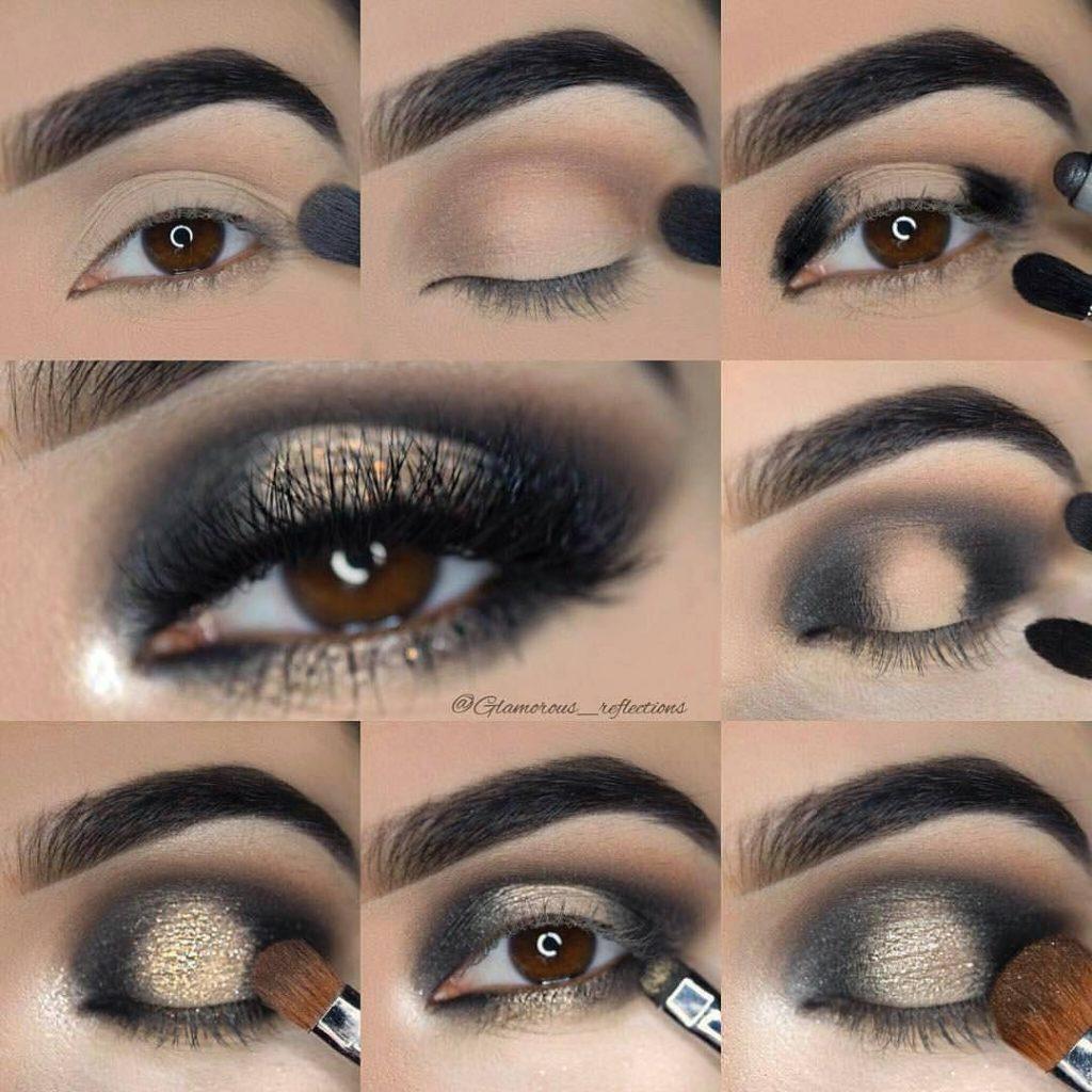 Таинственный и чувственный макияж глаз smoky eyes
