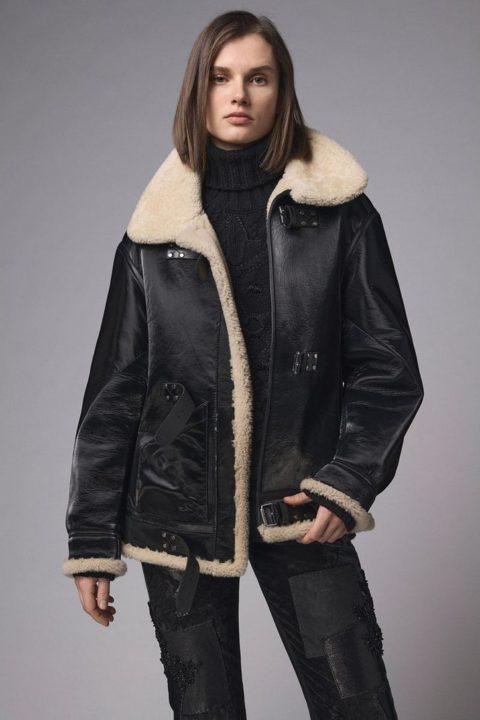 Модные зимние куртки 2021 – из овчины