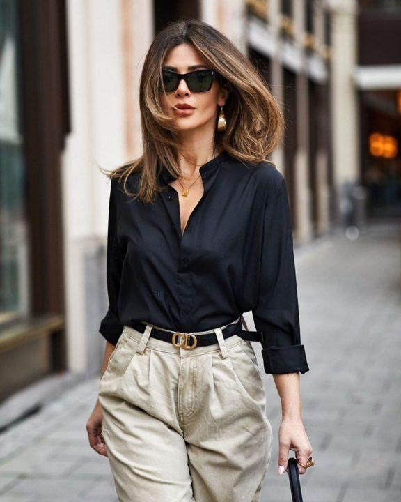 Модные секреты: женская рубашка