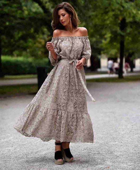 Платья лето 2021: Оригинальные фасоны платьев лета 2021