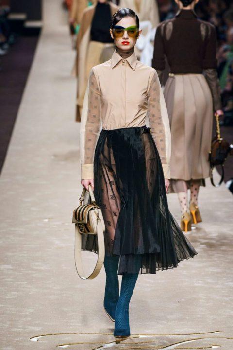 Воздушные юбки: мода весна-лето 2021