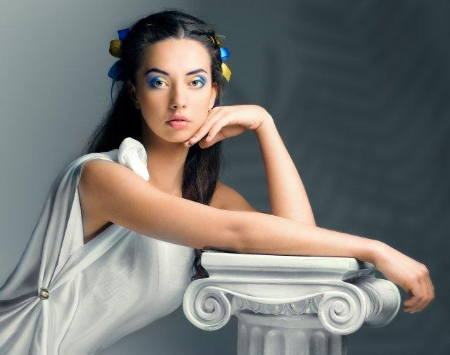 Правила создания макияжа в греческом стиле