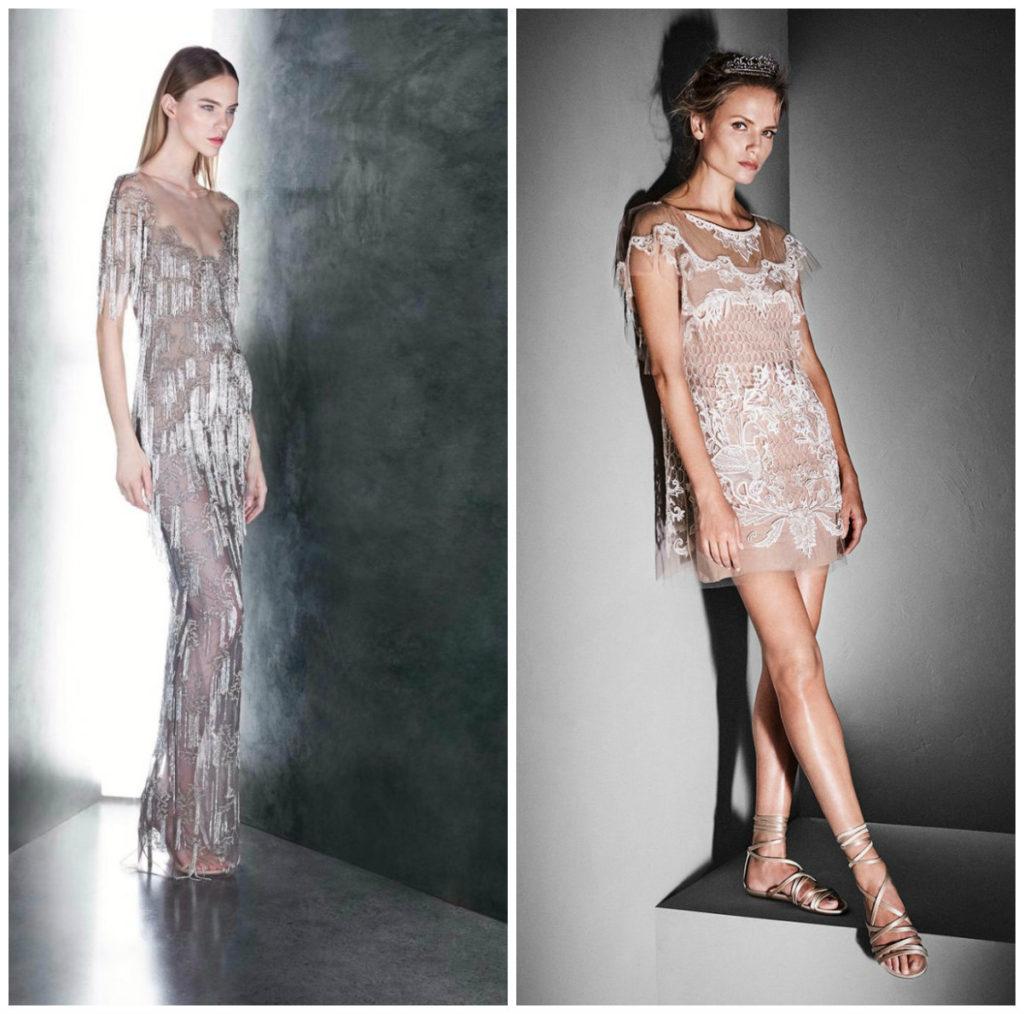 Вечерние наряды для смелых: прозрачные платья