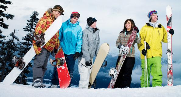 Одежда сноубордиста