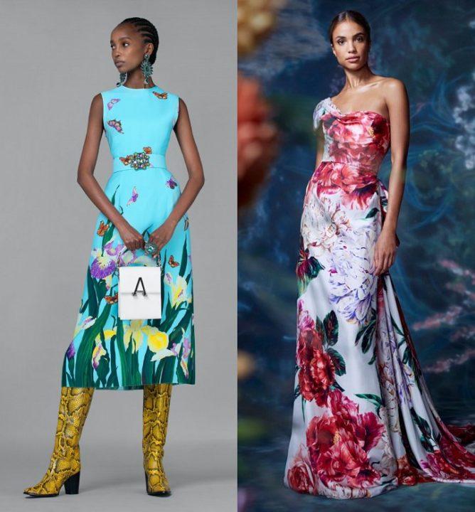 Принты на одежде: яркая мода весна весна-лето 2021
