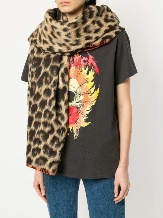 Хит сезона 2021 : шарф леопардовый!