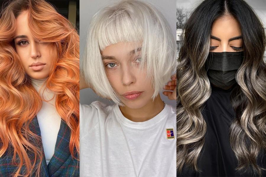 Самые трендовые техники окрашивания волос 2021